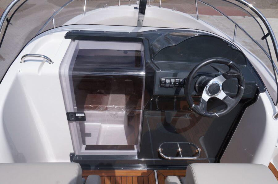 sun cruiser 650 steering pulpit