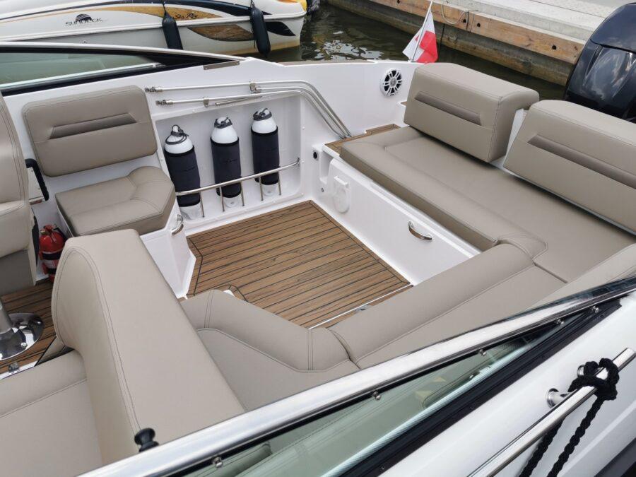 flipper 800 dc cockpit leather