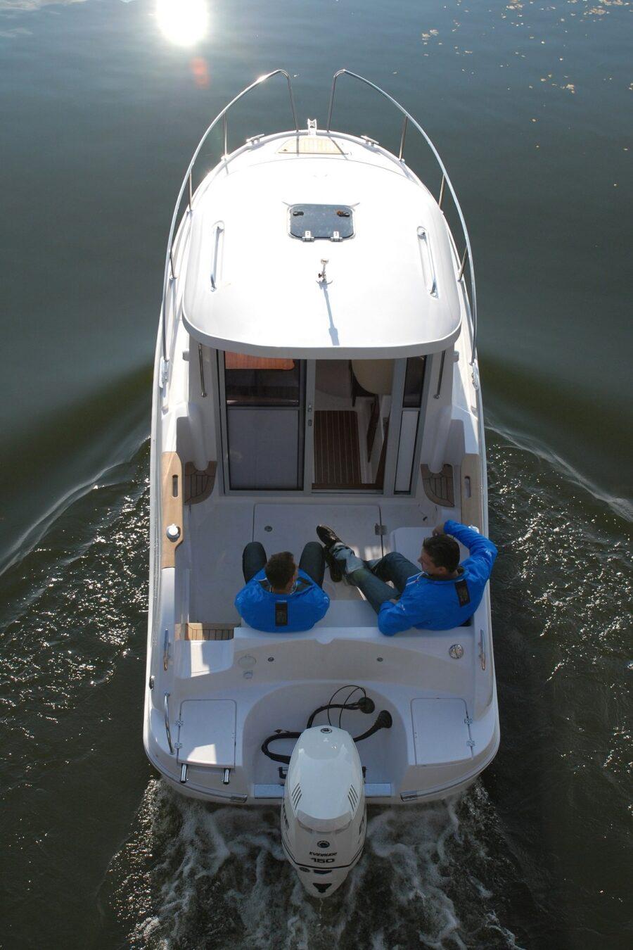 mazury 700 camping cruiser deck