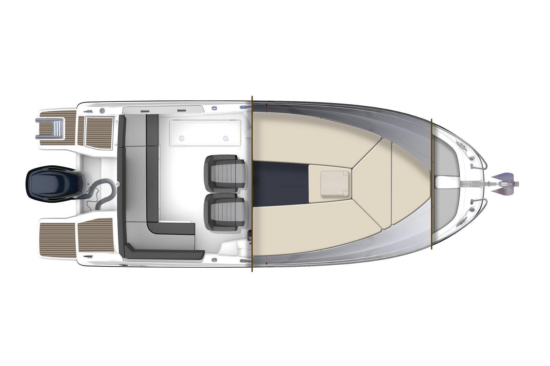 Cap Camarat 6.5 WA Serie 3 plan