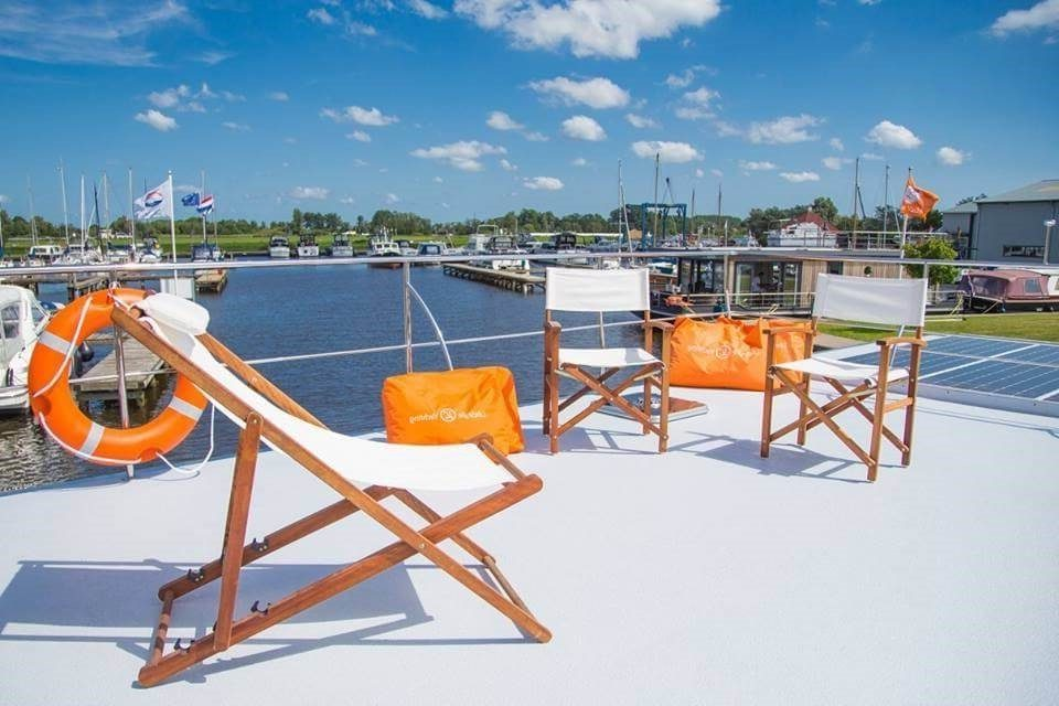 apartboat xl poland roof terrace