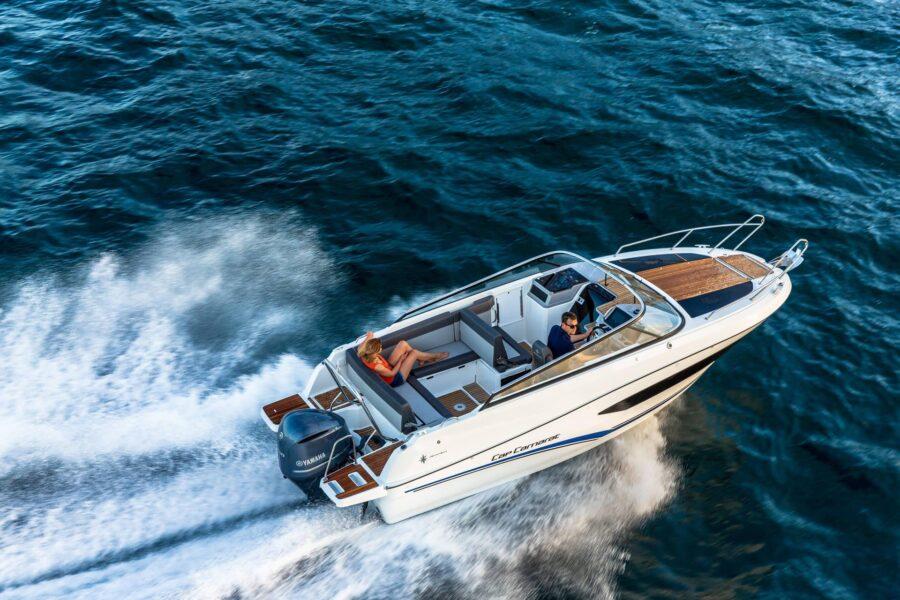 Cap Camarat 7.5 DC Serie 2 Jeanneau day cruiser