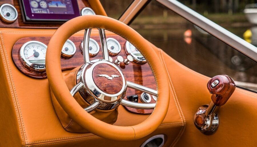 eagle one boat steering wheel