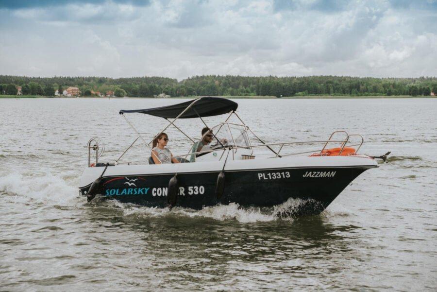 solar 530 boat fishing poland
