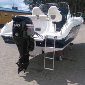 sun cruiser 570 outboard engine