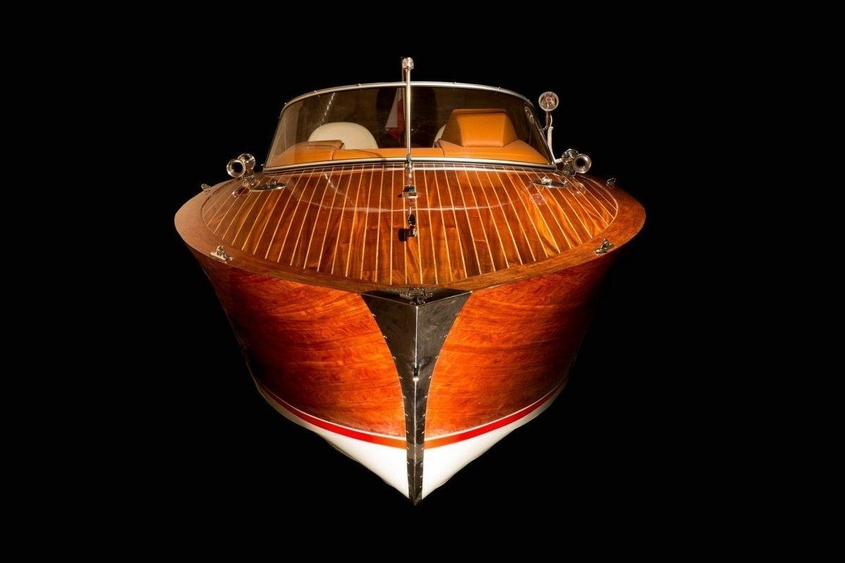 wooden day cruiser boat eagle one