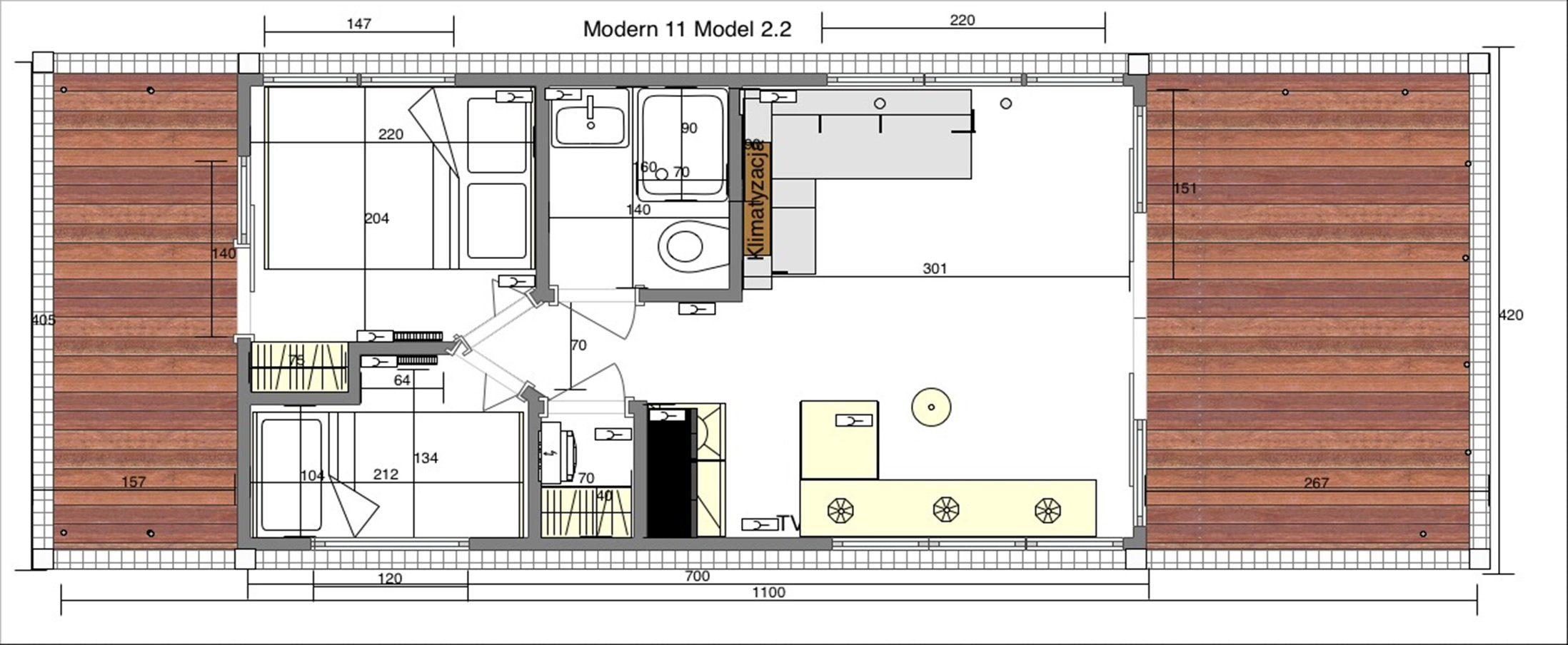 modern 11 plan