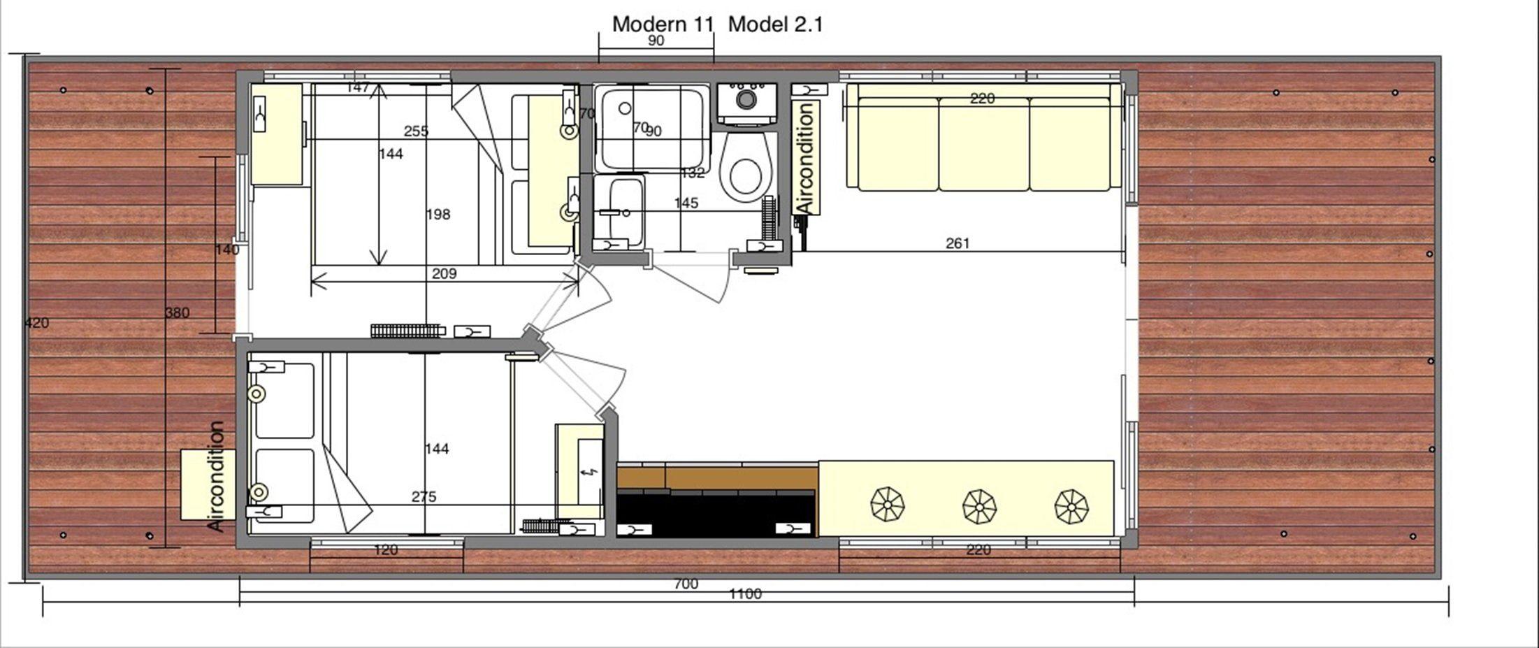 modern 11 scheme