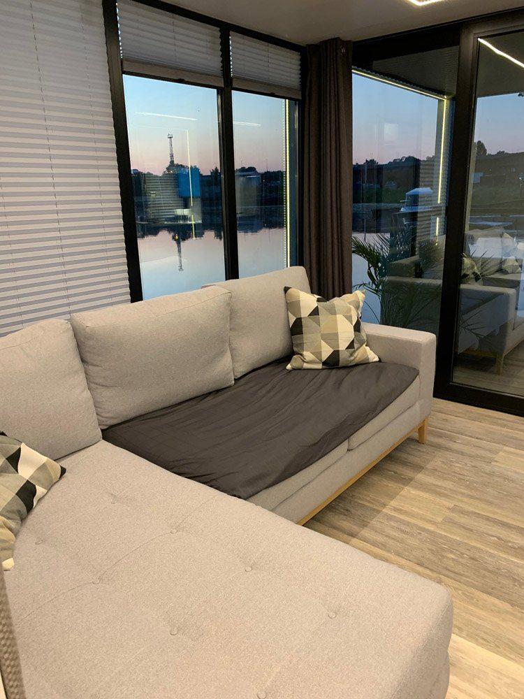 modern 11 sofa saloon hauseboot