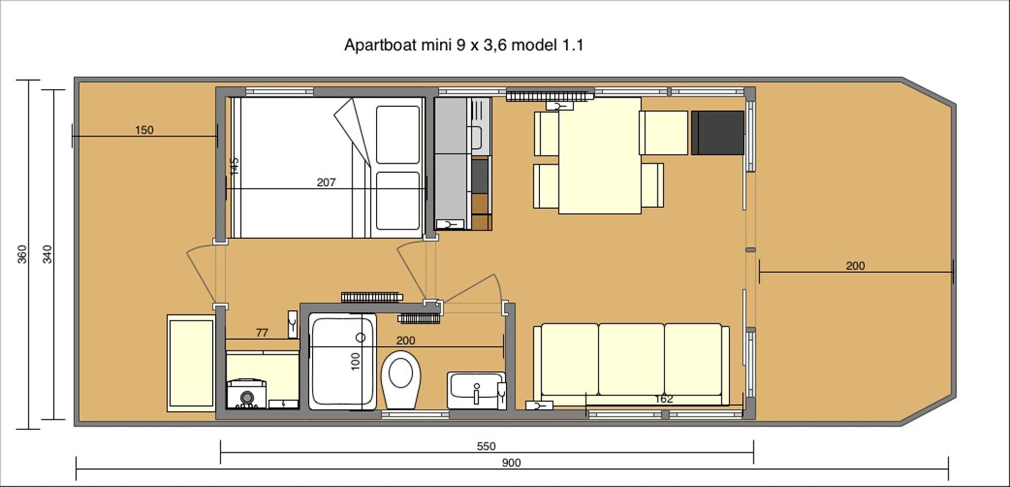apart m layout