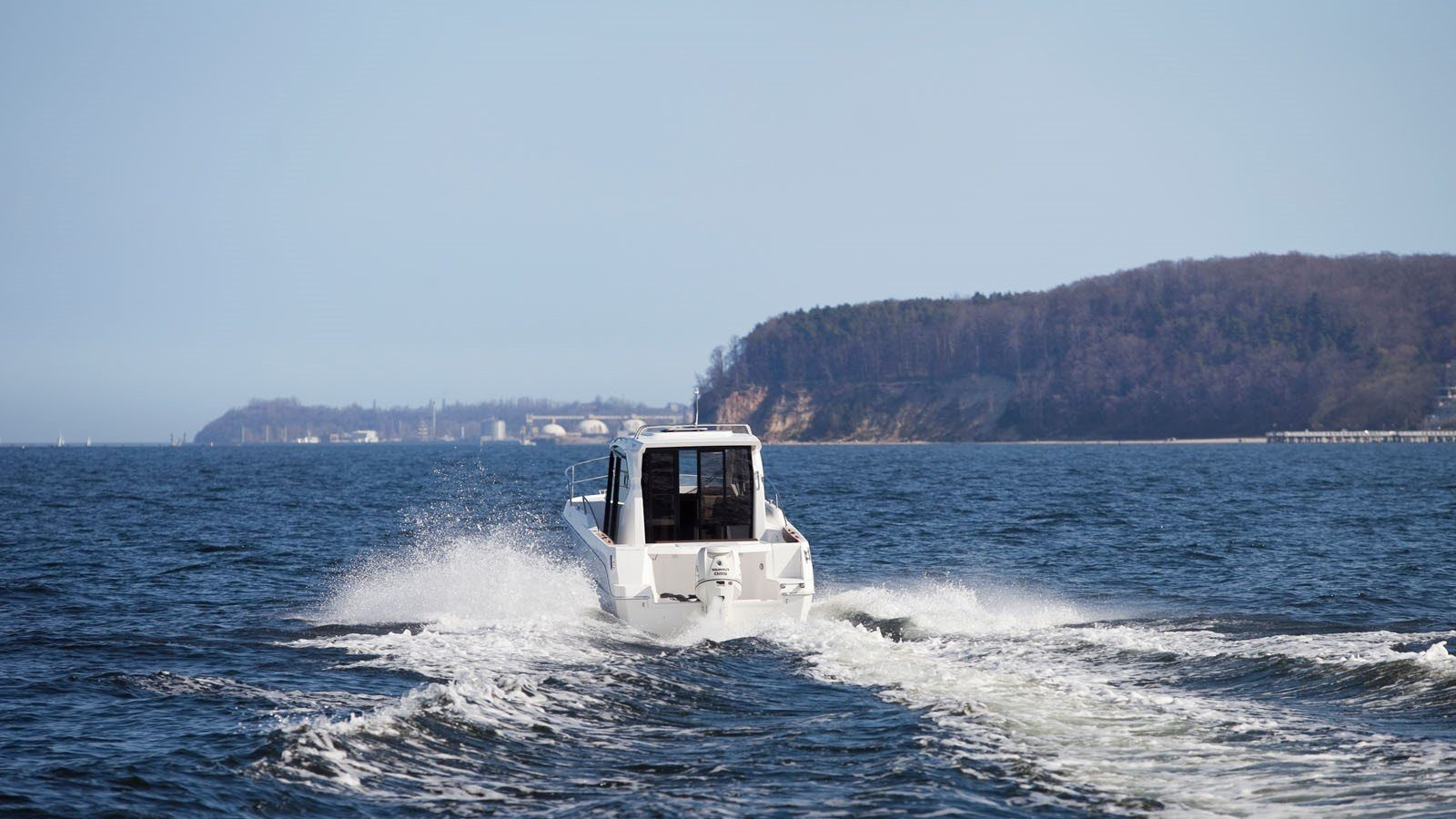 cruiser boat 750 planing hull