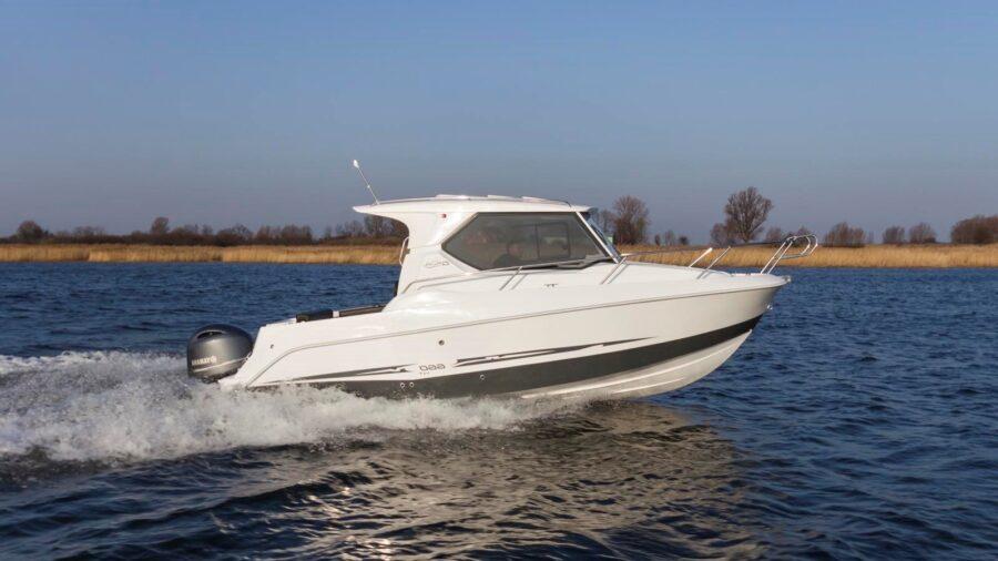 galia 660 hardtop boat