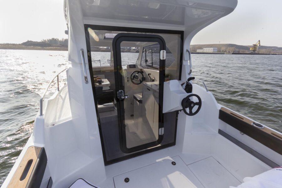 galia 660 ht additional steering