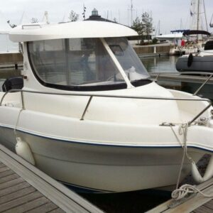 quicksilver 630 pilot fishing boat