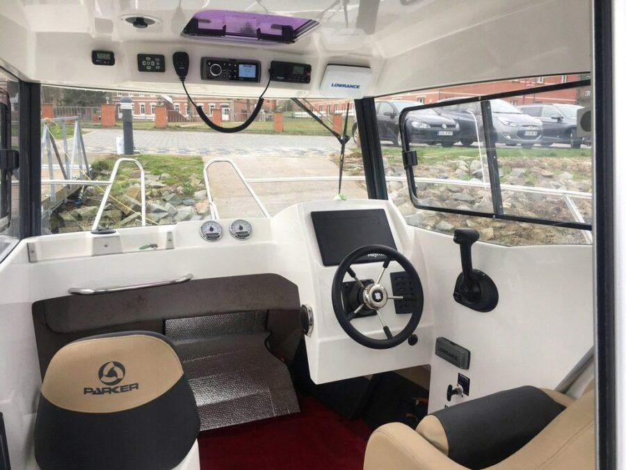 pilothouse 660 cabin boat for sale