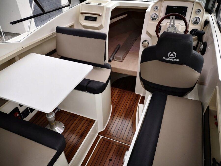 parker boats cabin cruiser