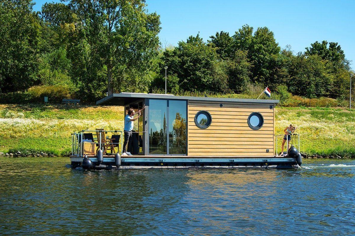 apart m house boat la mare