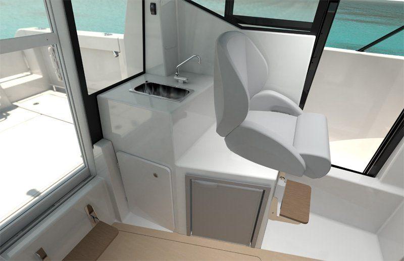 new quicksilver pilothouse interior