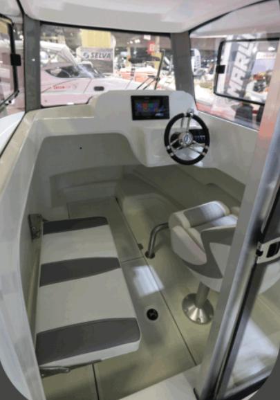 smartliner 22 fisher interior