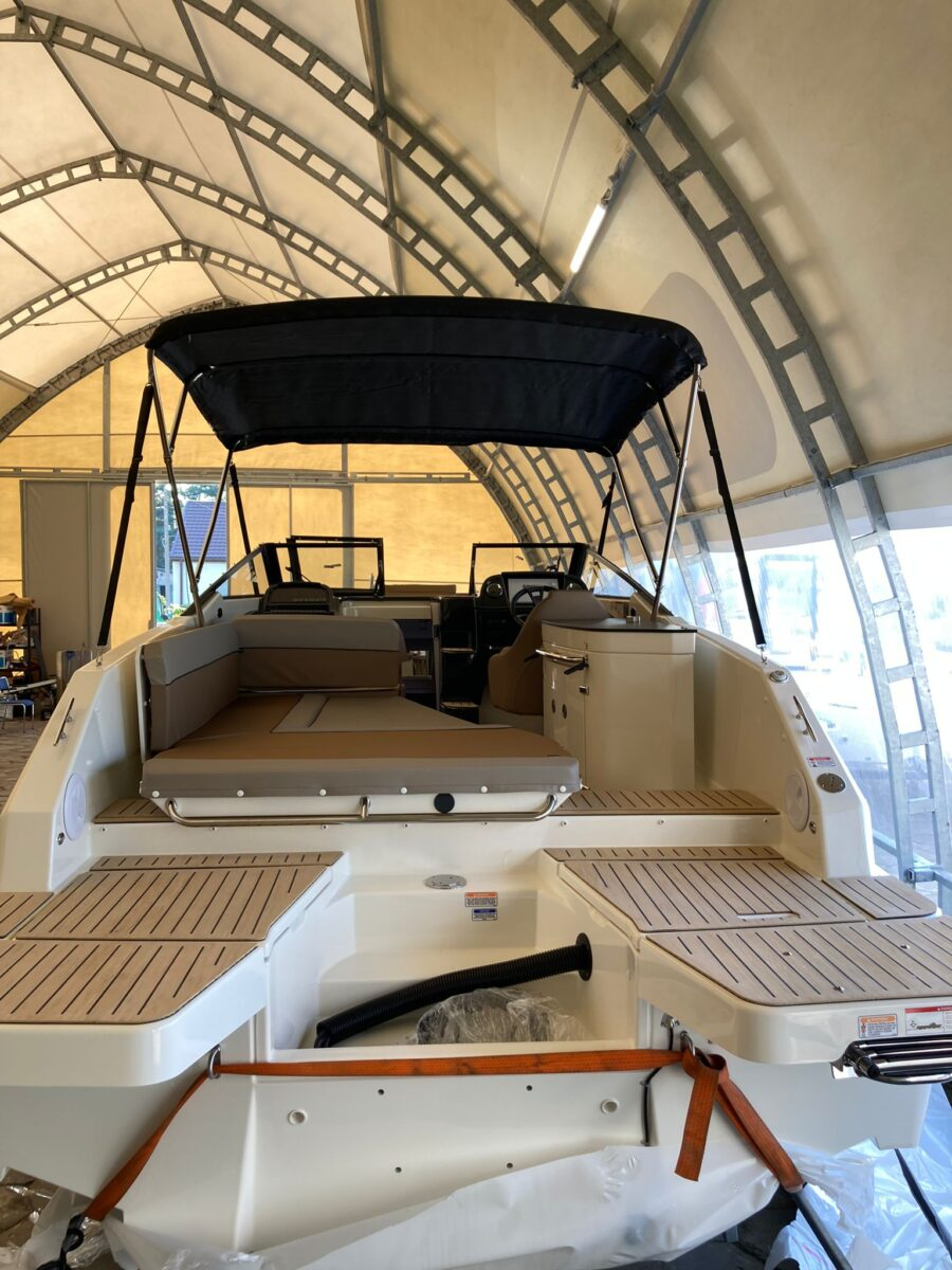 quicksilver day cruiser bathing platforms