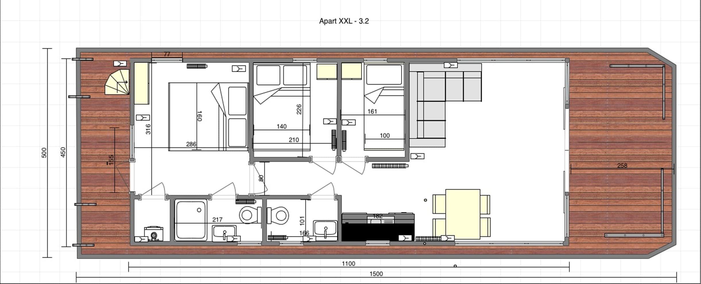 scheme modern house
